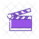 Film Clapperboard Cinema Icon