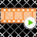 Film Turn Play Icon