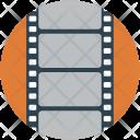 Film Reel Print Icon
