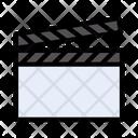 Clapper Board Media Icon