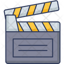 Film Clapper Clapper Clapperboard Icon