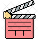 Film Clapperboard Icon