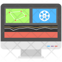 Film Editing Video Icon