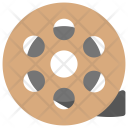 Spinning Film Reel Icon