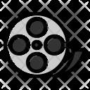 Film Reel Clip Icon