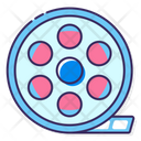 Mfilm Reel Film Reel Camera Reel Icon
