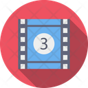 Strip Reel Video Icon