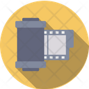 Reel Filmstrip Movie Icon