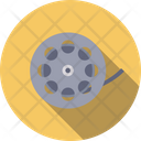Reel Film Filmstrip Icon