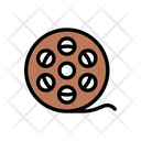 Reel Camera Film Icon