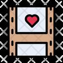 Film Reel Love Icon