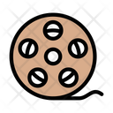 Reel Camera Filmstrip Icon