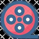 Reel Film Camera Icon