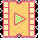 Film Clip Cinema Icon