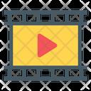 Video Reel Movie Reel Film Icon
