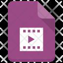 Filmreel File Document Icon