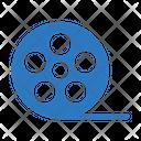 Reel Filmstrip Camera Icon
