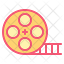 Roll Clip Cinema Icon