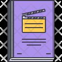 Film Script Scenario Icon