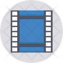 Film Strip Film Reel Movie Icon