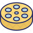 Film Reel Film Stip Movie Reel Icon