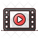 Film Strip Film Reel Movie Reel Icon