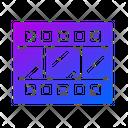Glyph Gradient Color Icon