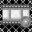 Film Strip Cd Multimedia Icon