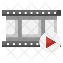 Film Strip Negative Film Multimedia Icon