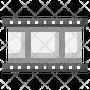 Film Strip Negative Film Music Icon