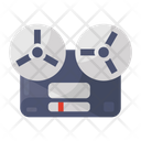 Film Tape Film Reel Output Device Icon