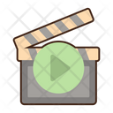 Filming Vlogger Blogger Icon