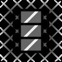 Filmstrip Reel Clip Icon
