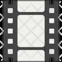 Filmstrip Movie Reel Icon