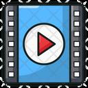 Flimstrip Film Reel Movie Film Icon