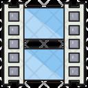 Filmstrip Reel Movie Icon