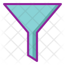 Filter Chemistry Funnel Icon