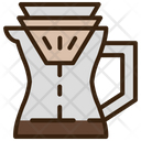 Filter Mixer Coffee Maker Icon