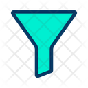 Funnel Cone Conversion Icon