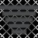Fade Filter Funnel Icon