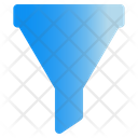 Filter Tunnel List Icon