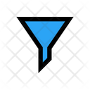 Filter Sort Funnel Icon