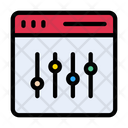 Control Setting Filter Icon