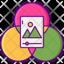Filter Circle Color Icon
