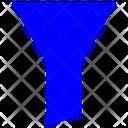 Filter Line Icon Editable Stroke Editable Icon