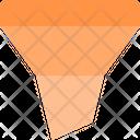 Filter Funnel Cone Icon