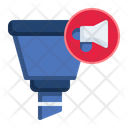 Filter Funnel Hand Drawn Icon