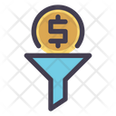 Filter Conversion Financial Icon