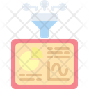 Filter analytics Icon