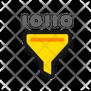 Filter Binary Data Icon